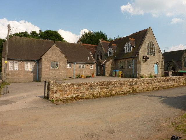 The former village school, Blymhill