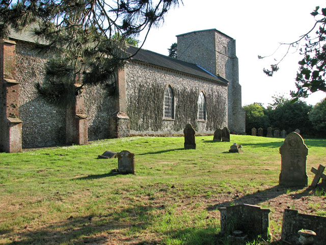 All Saints' church in Helhoughton