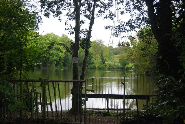 Intermediate Lake, Crystal Palace Park
