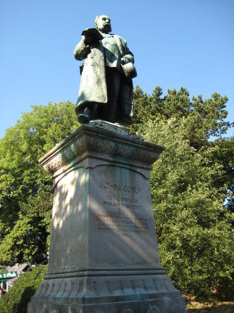 Statue of John Cory