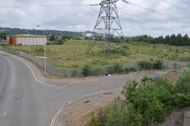 Wasteland at Maes-Glas, Newport