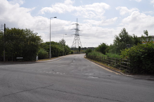 Junction of Docks Way and West Way Road