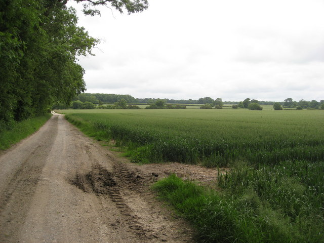 Track from Claxby Grange