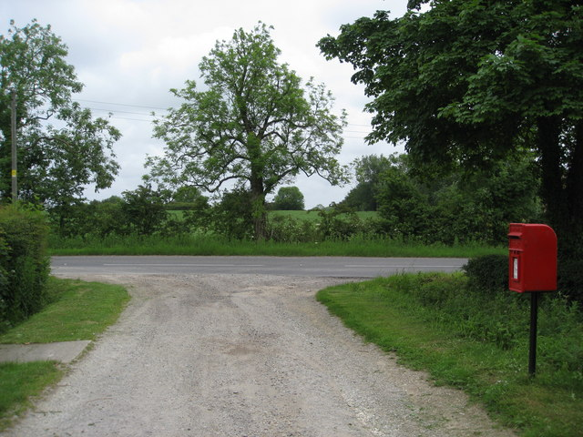 Mawthorpe - Junction with the B1196