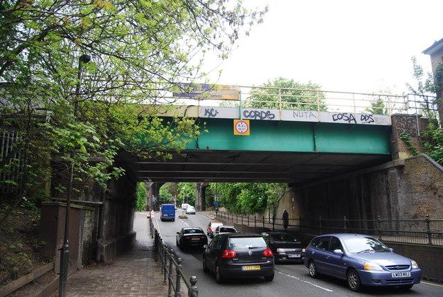 Railway Bridge over High St, Penge