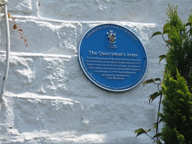 The Quarryman's Arms plaque