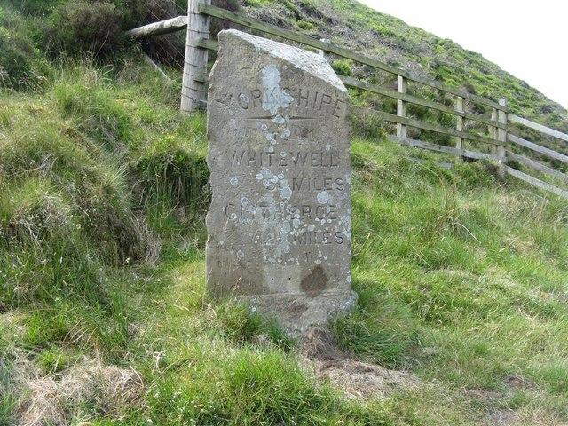 Boundary Stone, Trough of Bowland