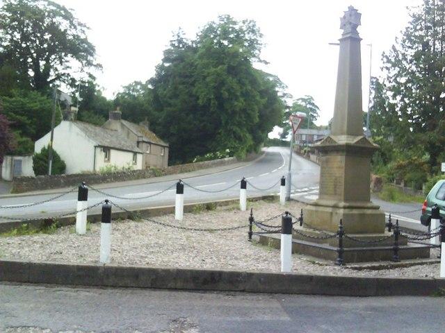 War memorial on Bongate