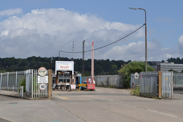 Entrance to old Steel works on Mendalgief Industrial park