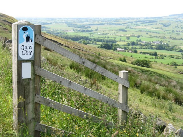 Quiet Lane on Longridge Fell