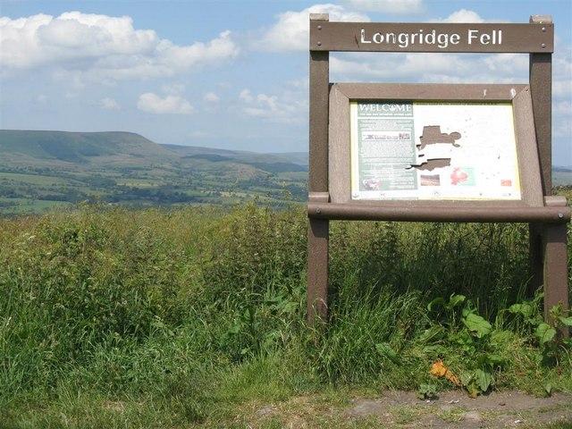 Longridge Fell Information Board