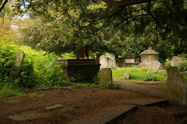 St John-at-Hampstead Churchyard, London NW3