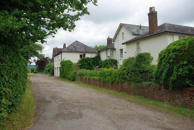 Gadbrook House - side view