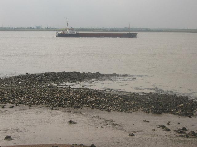 Tanker in the River Thames