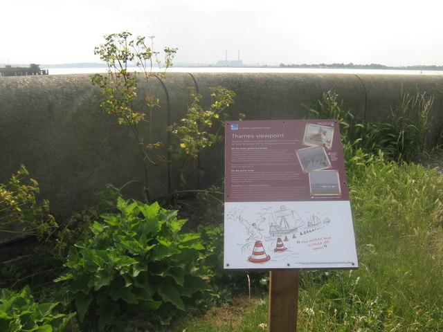 Thames Viewpoint - RSPB Cliffe Pools