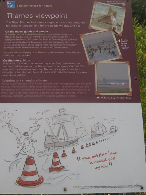 Thames Viewpoint Information Board