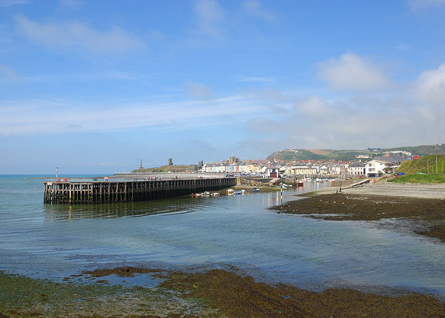 Aberystwyth from the south