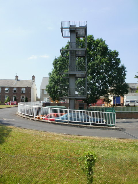 Training tower, Lydney Fire Station