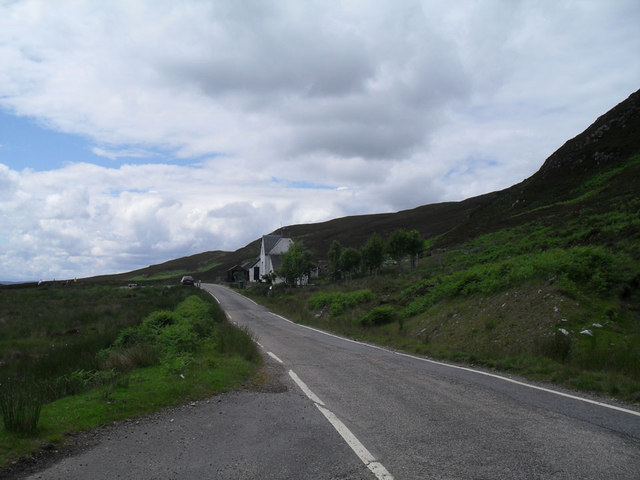 Glen Cottage from the east
