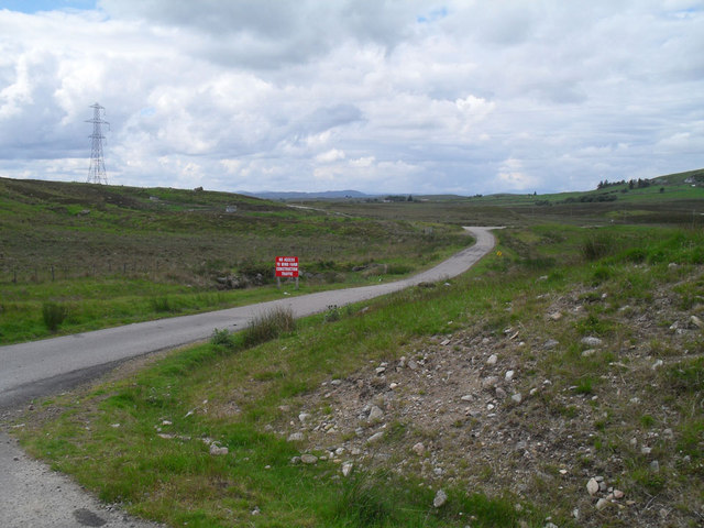 No windfarm traffic beyond this point