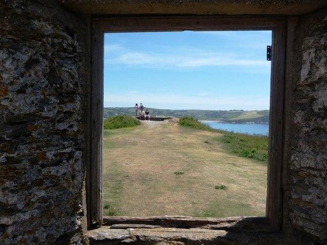 Summit of Burgh Island