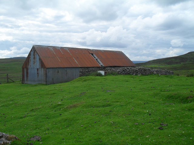 Old shed at Achatomlinie