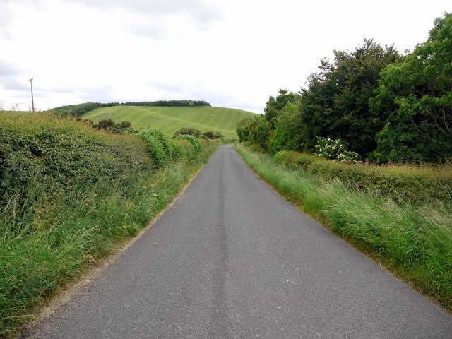 Minor road from Pallinsburn to Branxton