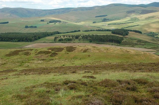 Hill fort northeast of White Meldon