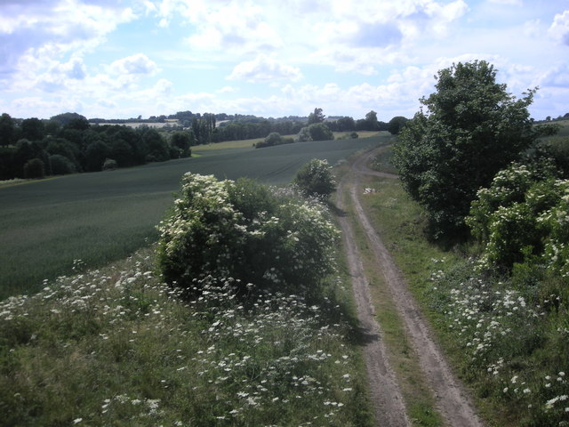 Dismantled Railway Line near Dodford