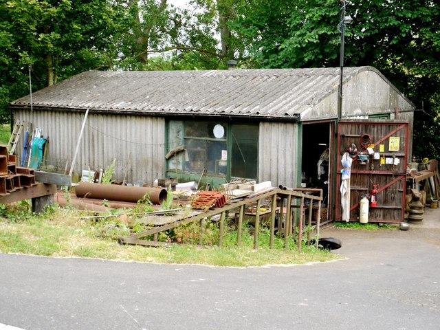 Workshop, Blue Bell Garage, Pallinsburn