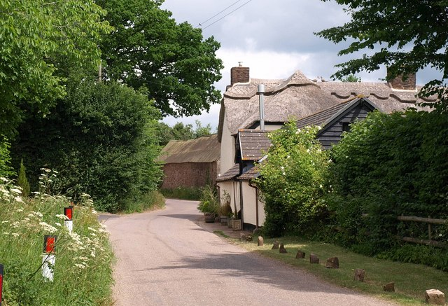 Thatched cottage, Appley