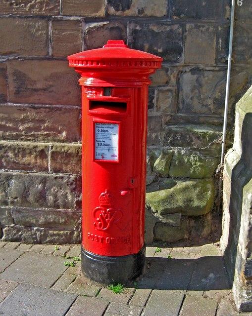 George VI postbox, High Street