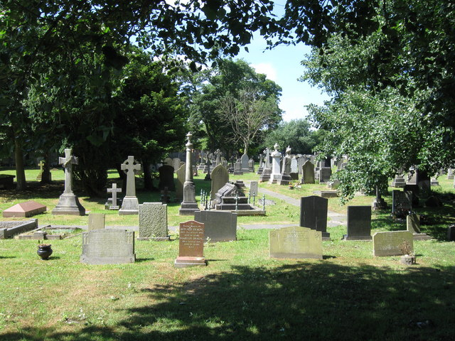 Graveyard, Christ Church, Thornton