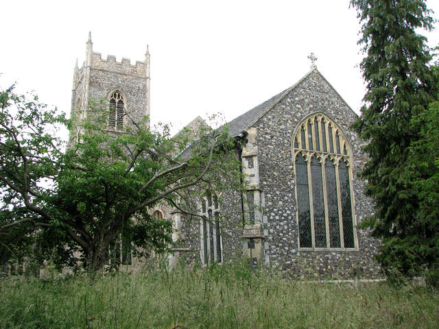 St Mary's church in Ufford