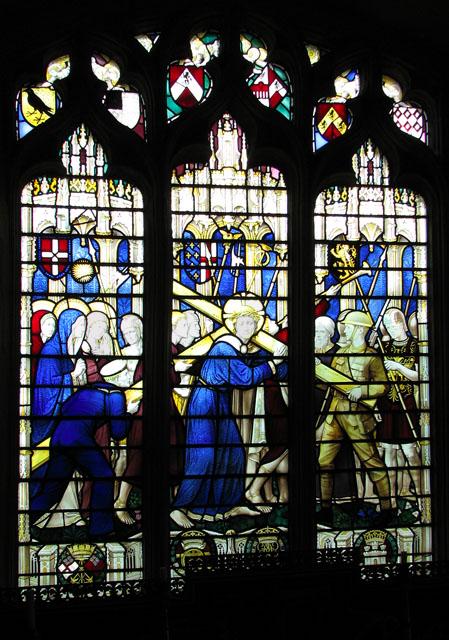 St Mary's church in Ufford - C20 memorial window