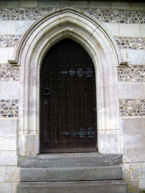 Priest's Door, St Marys, St Cuthberga and All Saints, Witchampton
