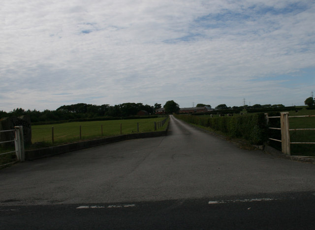 Access Road to Larbreck Hall