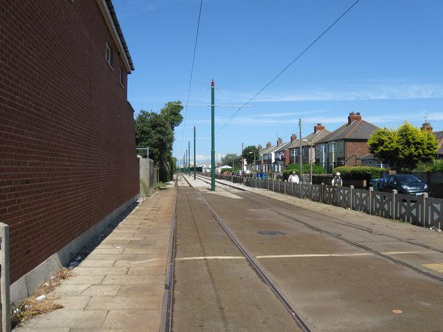 Tramway at Broadwater