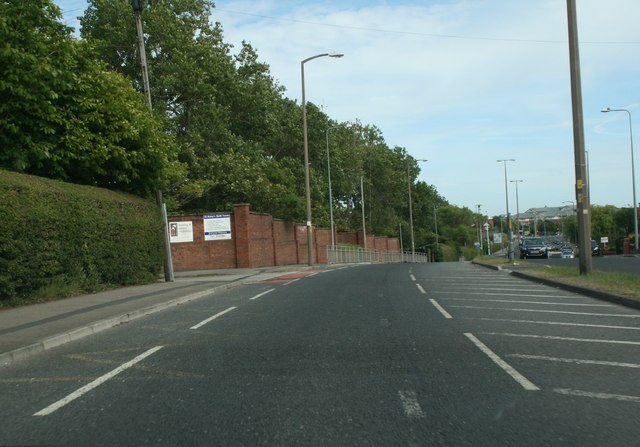St Walburgas Road near St Mary's College