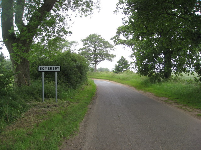 Approaching Somersby