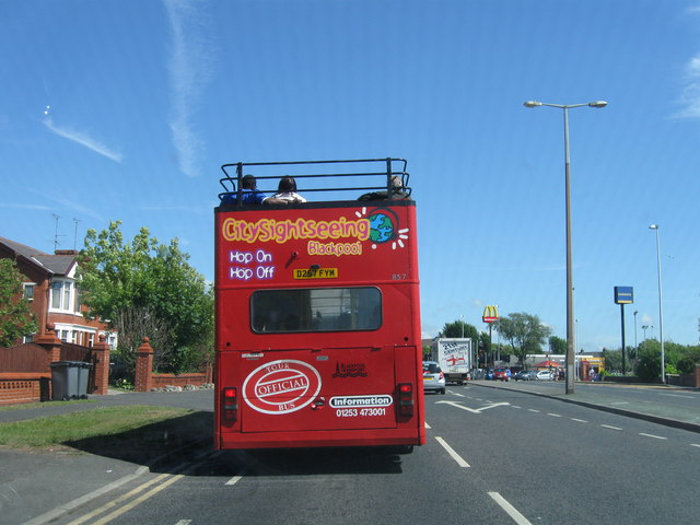 Blackpool Tour Bus, Preston New Road