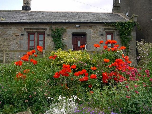 Cottage garden, Crookham