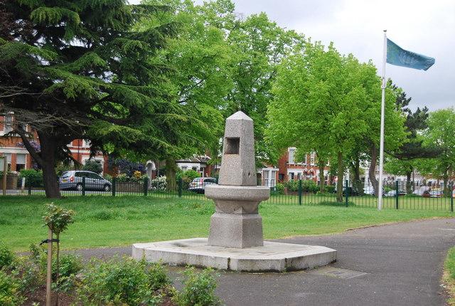 Metropolitan Drinking Fountain, Alexandra Recreation Ground
