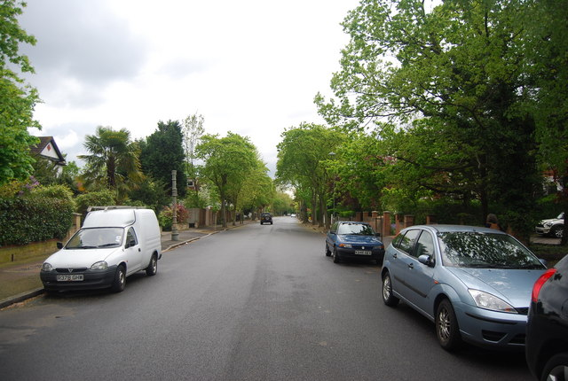 Trewsbury Rd: southwards
