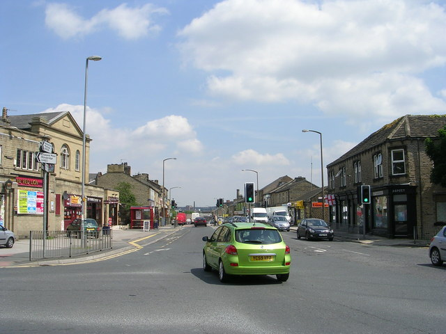 Lockwood Road - viewed from Meltham Road