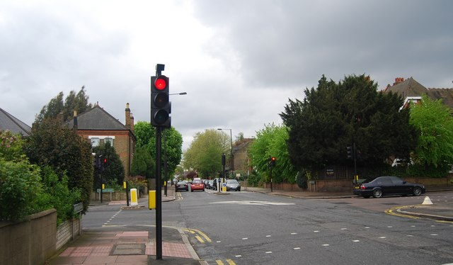 Traffic light, Kent House Rd and Lennard Rd
