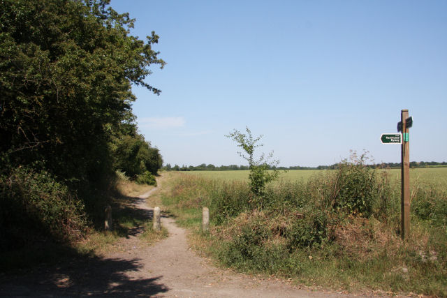 Restricted byway to Landwade