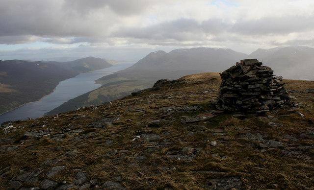Summit of Meall Cruaidh