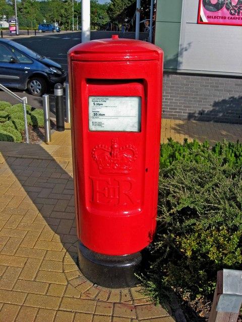 Elizabeth II postbox (modern type), George Baylis Road