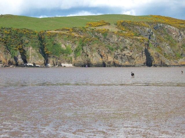 Low tide at Portling Bay